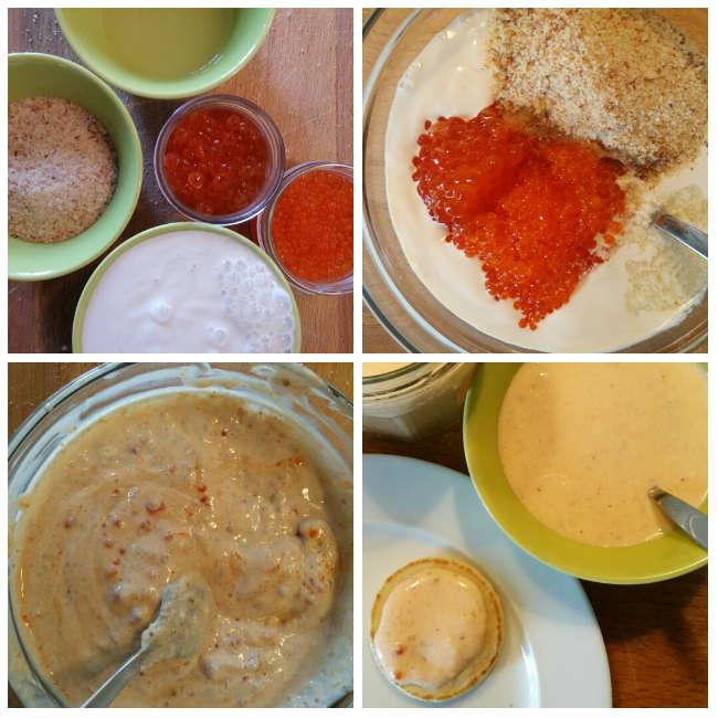 photo préparation recette Tarama facile sans lactose