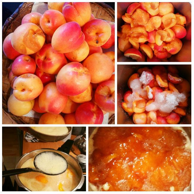 photo préparation recette Confiture d'Abricots